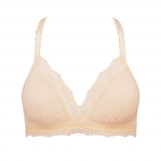 Soft cup triangle bra - Aurore