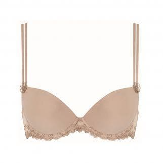 Push-up with racerback bra - Nude