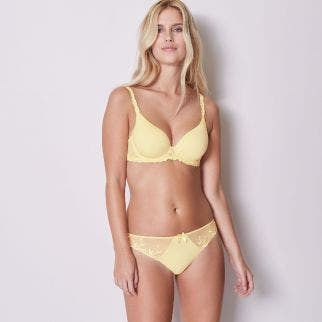 Cotton Thong - Yellow