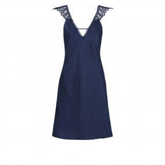 Silk nightdress - Night Blue