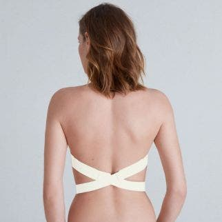 Plunging back accessory - Natural