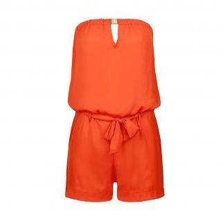 Korte jumpsuit - Orange