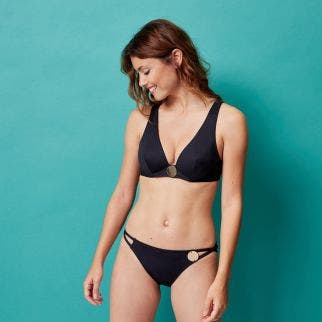 Wireless support bikini triangle - Black