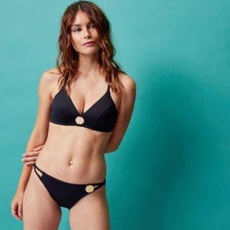 Mini slip bikini - Black