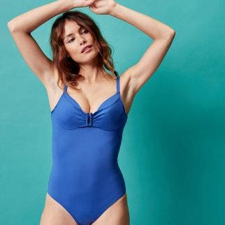 Underwired one-piece swimsuit - Pacific