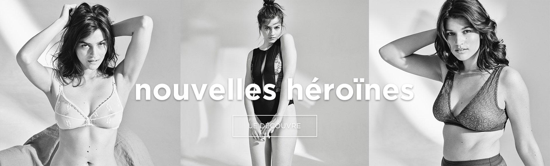nouvelles héroïnes