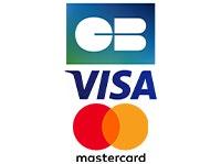 Payment method: Carte bancaire, Visa, Mastercard