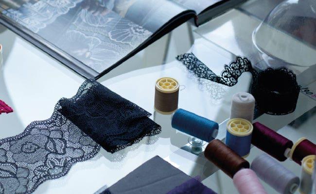 Quelles sont les matières utilisées dans la lingerie   Simone Pérèle
