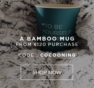 A BAMBOO MUG OFFERED FROM €120 PURCHASE WITH CODE COCOONING | Simone Pérèle