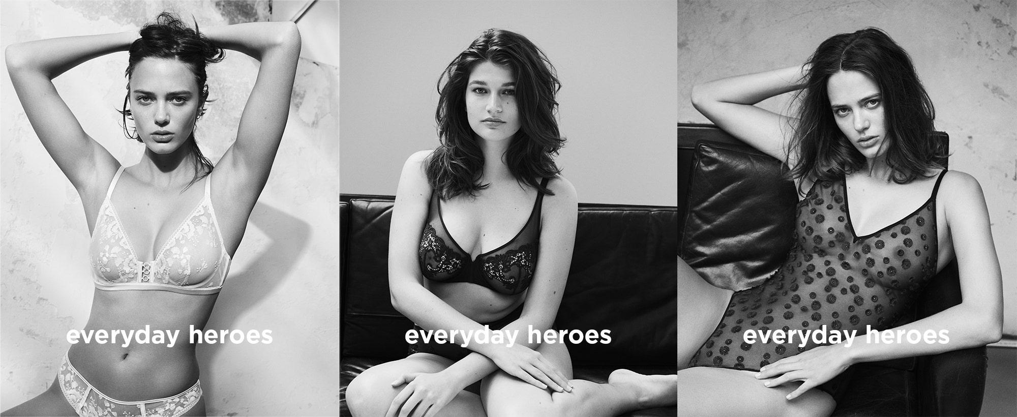 Everday heroes collection by Simone Pérèle : ORPHÉE, SAGA, CASSIE | Simone Pérèle