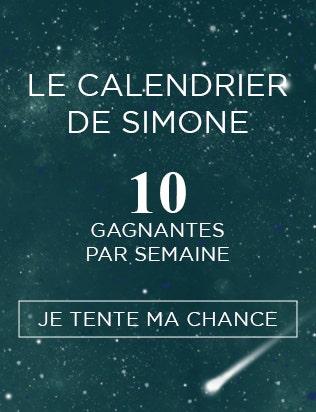 LE CALENDRIER DE SIMONE | Simone Pérèle