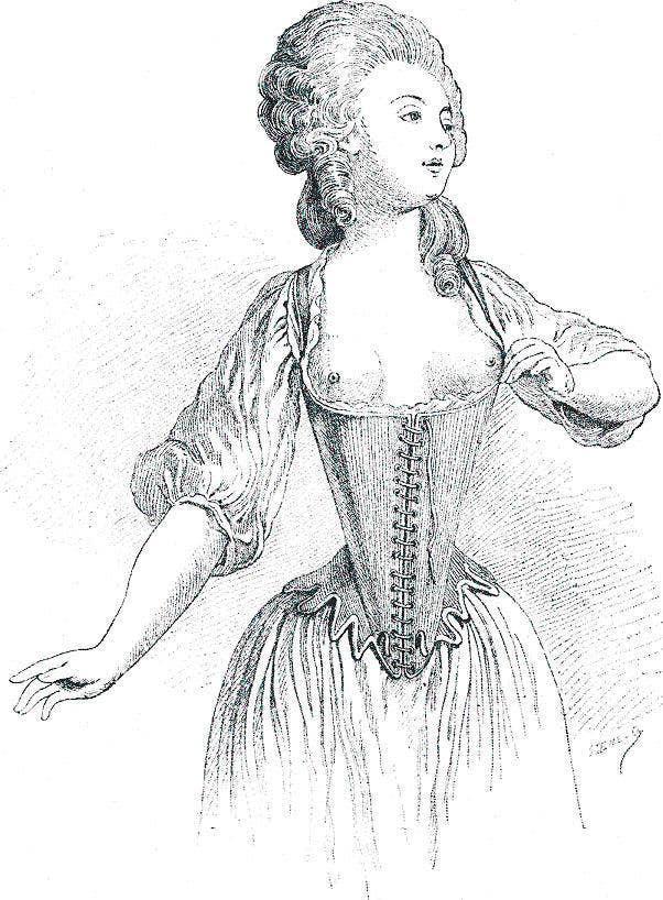 Histoire de la lingerie : le soutien-gorge | Simone Pérèle